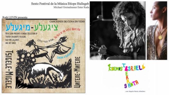 Acunar en ídish, de Ruth Levin & Hullegeb Jerusalén