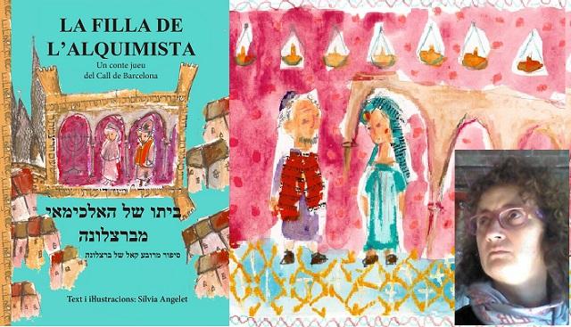 """""""La filla de l'alquimista"""", con su autora Sylvia Angelet"""