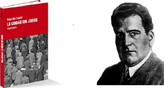 """""""La ciudad sin judíos"""" de Hugo Bettauer con su editor Julián Rodríguez"""