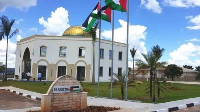 Embajada palestina en Brasilia y publicación de Mein Kampf