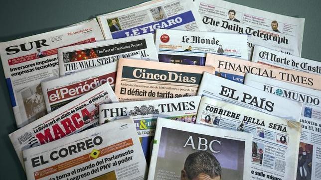 El País, ABC y La Vanguardia no se quieren enterar