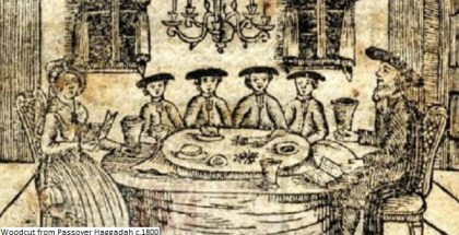 FOTO-Passover woodcut 1800