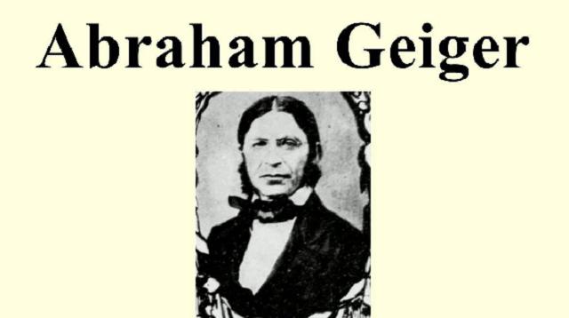La reforma de la sinagoga y Abraham Geiger (1ª parte)