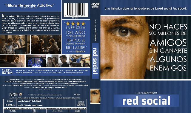 """La red social (The Social Network)"" (2010), de David Fincher (EE.UU.)"