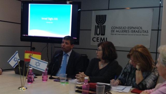 Israel hoy, a 68 años de su independencia, con su consul en Madrid Itzhak Erez (CEMI, Madrid, 10/5/2016)