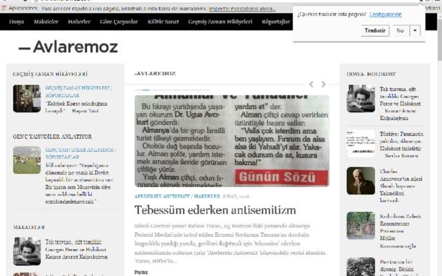 Avlaremoz, una web turca contra el antisemitismo, con Albert Sabanoglu