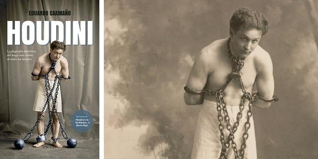 """Houdini"", con su autor Eduardo Caamaño"
