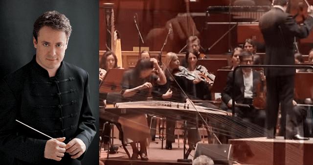 Julian Kuerti dirige música de chinos