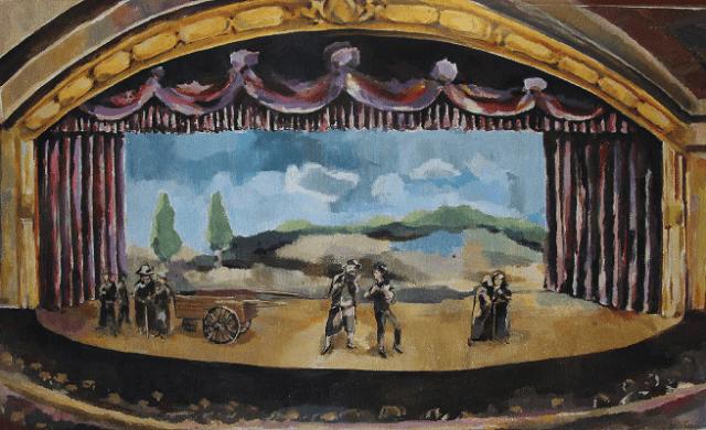 Los orígenes del moderno teatro judío europeo