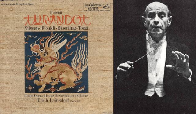 """Turandot"" de Puccini, dirigida por Erich Leinsdorf"