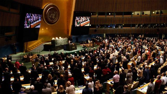 """El """"show"""" de Israel y Palestina en la ONU"""