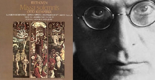 """Missa Solemnis"" de Beethoven, dirigida por Otto Klemperer"