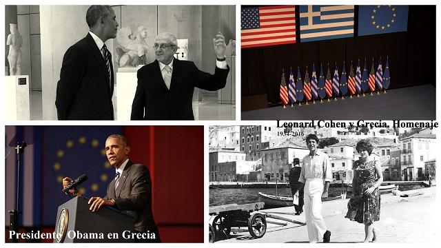 Presidente Obama en Atenas & Leonard Cohen y Grecia