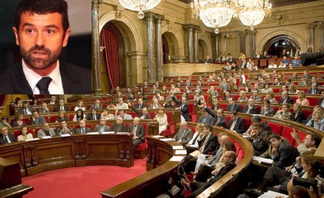 Proyecto educativo sobre el holocausto en el Parlament de Cataluña, con Eduard Triay