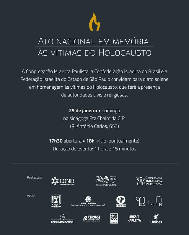 Cooperación contra grupos neonazis en Brasil y actos en memoria del Holocausto