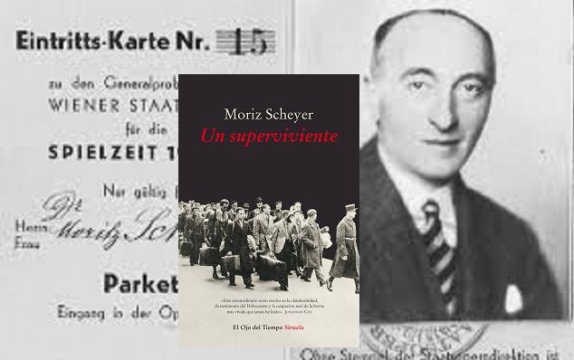 """""""Un superviviente"""" de Moriz Scheyer, con Begoña Llovet"""