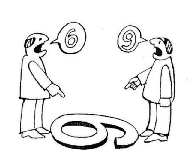 En busca de dos puntos de vista