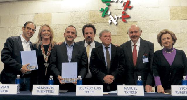 La historia de 613 personajes judíos mexicanos destacados: «Huellas», con su autor Alejandro Rubinstein