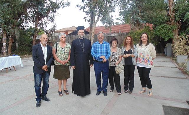 Padre Gabriel Naddaf en Chile