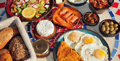 desayuno israeli