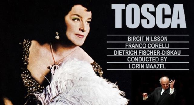 """""""Tosca"""" de Puccini, dirigida por Lorin Maazel"""
