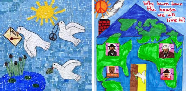 """CITYarts and """"Pieces for Peace"""", with Tsipi Ben-Haim"""