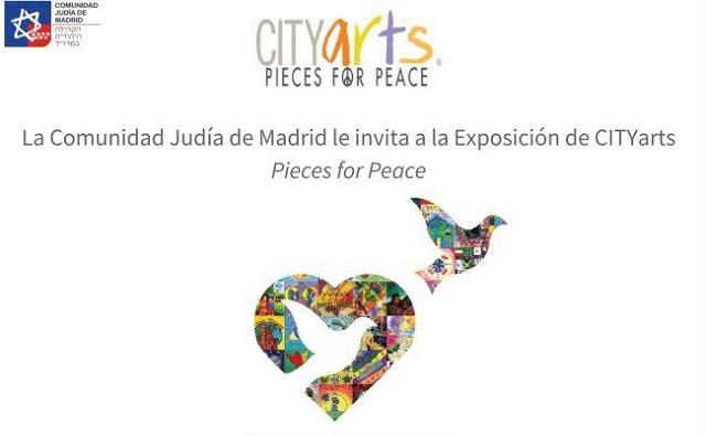 """""""Pieces for Peace"""" en la Comunidad Judía de Madrid, con Natalia Cogut"""