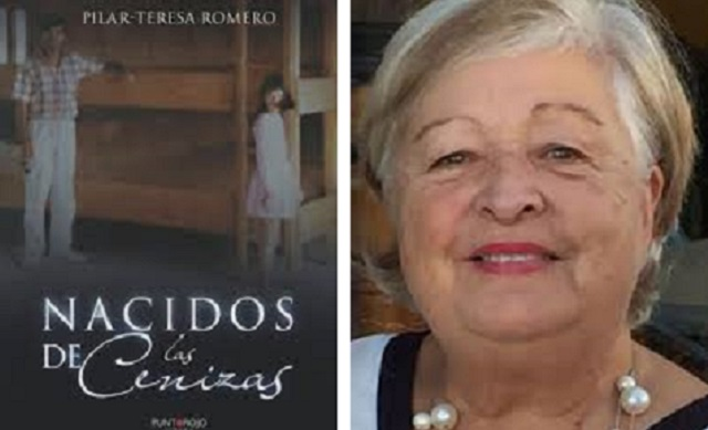"""Nacidos de las cenizas"", con su autora Pilar-Teresa Romero"