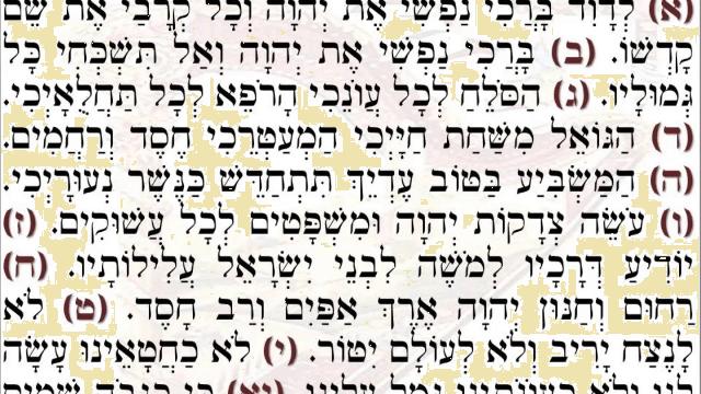 Salmo 103: la teoría de la recompensa y el castigo