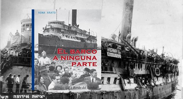 """""""El barco a ninguna parte. A bordo del Exodus"""", de Rona Arato, con David Aliaga"""