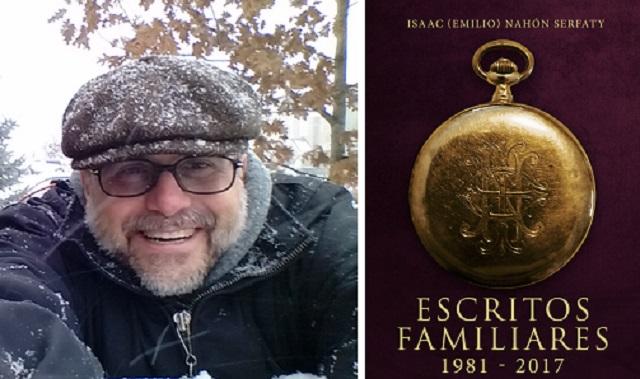 «Escritos familiares», con su autor Isaac Nahón