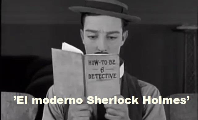 """""""El moderno Sherlock Holmes"""", de Buster Keaton (1924)"""