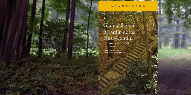 """""""El jardín de los Finzi-Contini"""" de Giorgio Bassani, con Juan Antonio Méndez"""