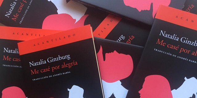 """Me case por alegría"" de Natalia Ginzburg, con Andrés Barba"