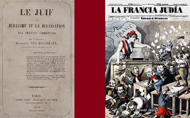 La literatura antisemita europea en los siglos XIX y principios del XX