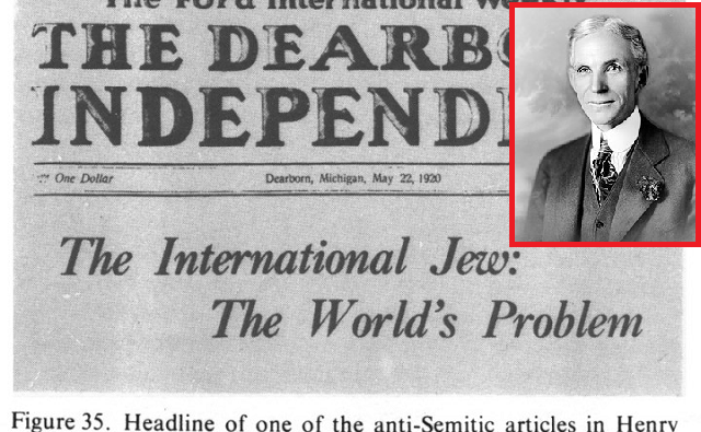 El antisemitismo de Henry Ford