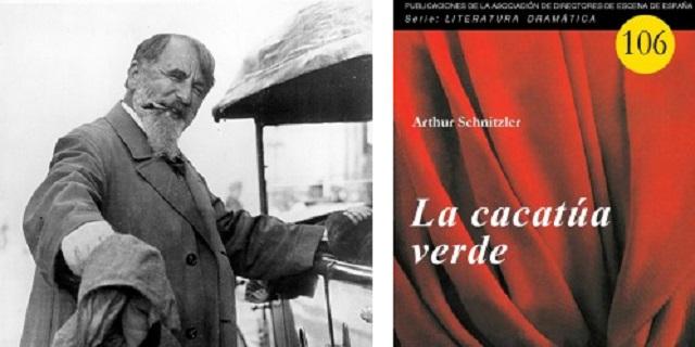 """""""La cacatúa verde"""" de Arthur Schnitzler, con Juan Antonio Hormigón"""