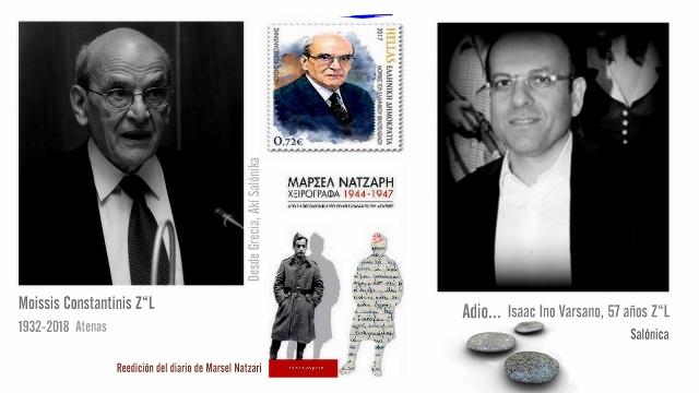 Diciendo adiós, y la reedición del diario de Marcel Nazary
