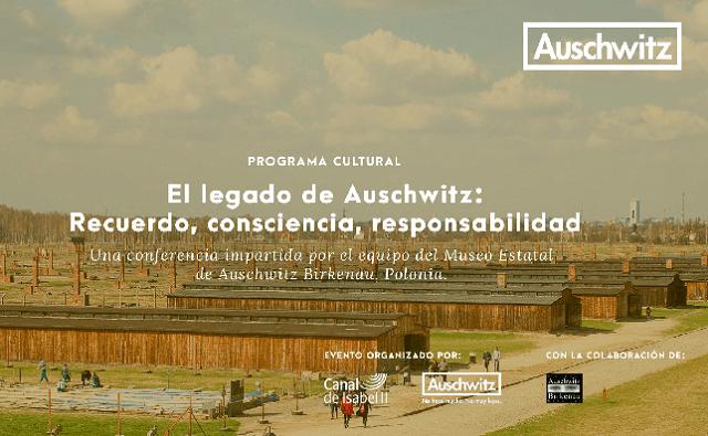"""""""El legado de Auschwitz: recuerdo, consciencia, responsabilidad"""" (Canal de Isabel II, Madrid, 15/11/2018)"""