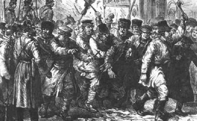 Judíos en el Imperio Zarista (y 8ª parte): los pogromos en la Zona de Residencia