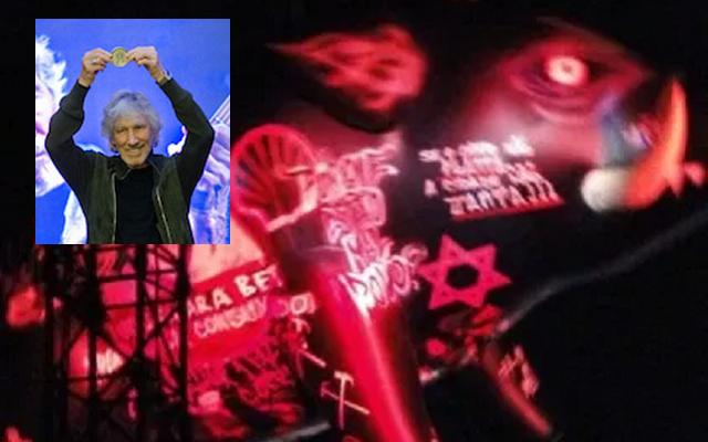 Roger Waters en Uruguay: medalla al antisemitismo, con Eduardo Kohn