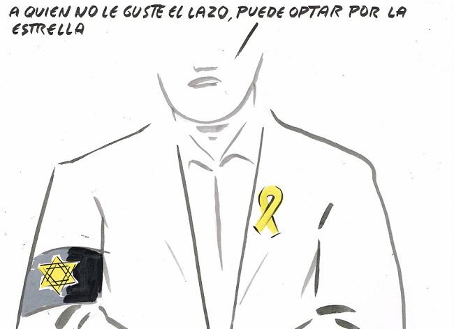 Lazos y estrellas amarillas: una comparación injustificable