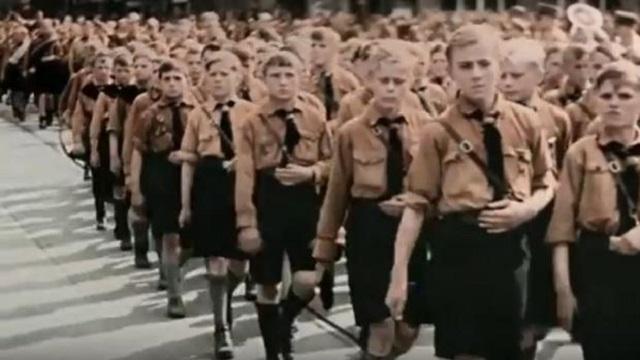 La nazificación de los niños y jóvenes alemanes