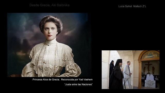 Adio Lukia Saltiel Mallach – Justos entre las Naciones: Princesa Alice de Grecia – Navidad