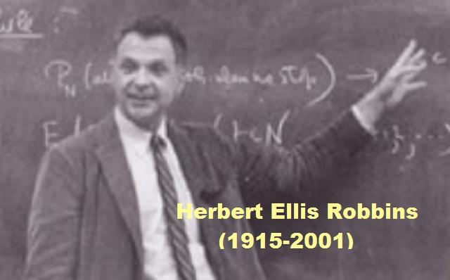 Herbert Ellis Robbins: el estadístico amante de la literatura