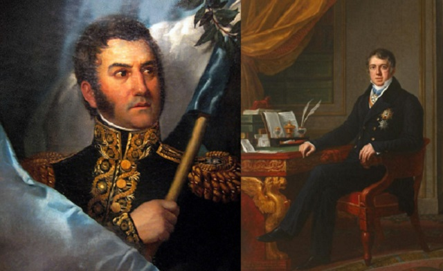 San Martín y Alejandro Aguado, en judeoespañol, desde el CIDICSEF de Buenos Aires