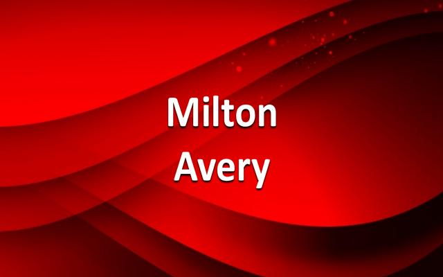 Milton Avery, entre el paisajismo figurativo y el expresionismo abstracto
