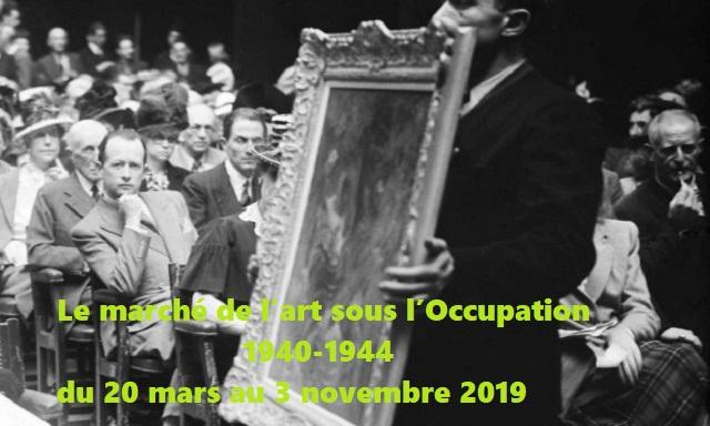 """""""El mercado del Arte bajo la Ocupación, 1940-1944"""": exposición en el Mémorial de la Shoah de París"""