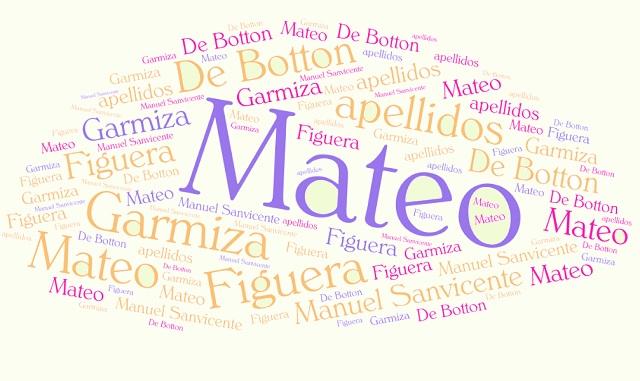 El origen de los apellidos Figuera, Mateo, De Botton y Garmiza
