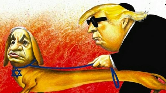 La polémica caricatura publicada en 'The New York Times'